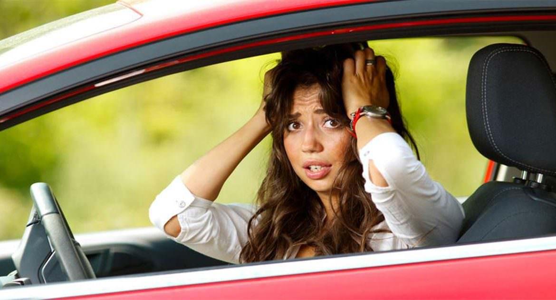 Трудности вождения у женщин