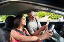Уроки вождения авто